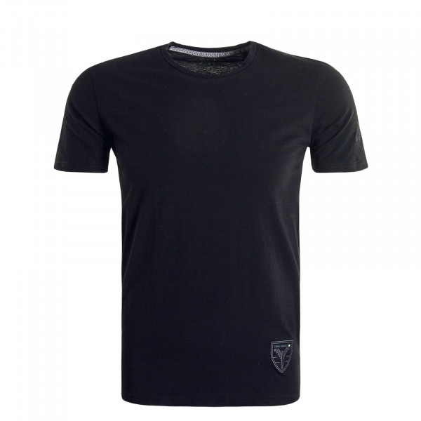 Herren T-Shirt  Crewneck Black