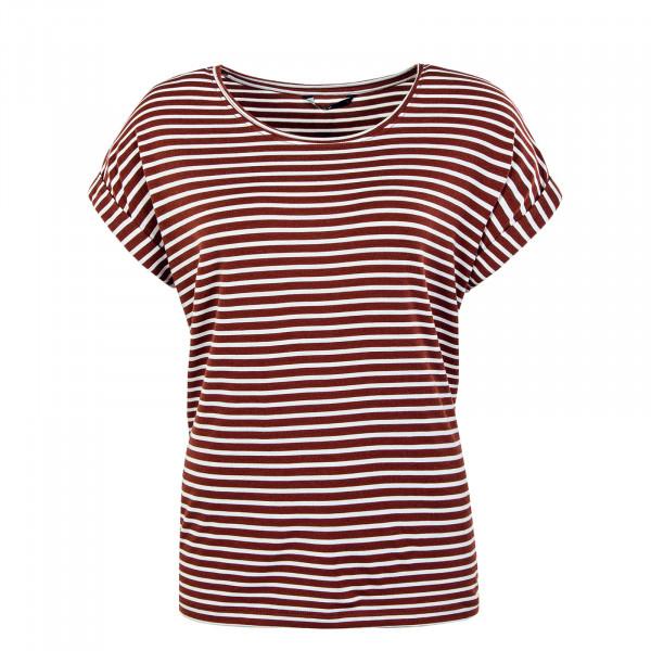 Damen Shirt - Onlmoster Stripe - Henna Stripes Cloud