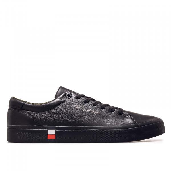 Herren Sneaker - Corporate Modern Vulc Leather - Black
