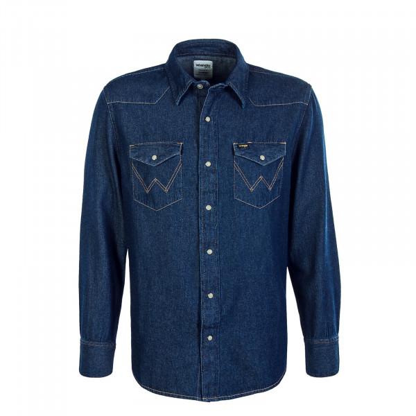 Herren Hemd Jeans 27MW Stone