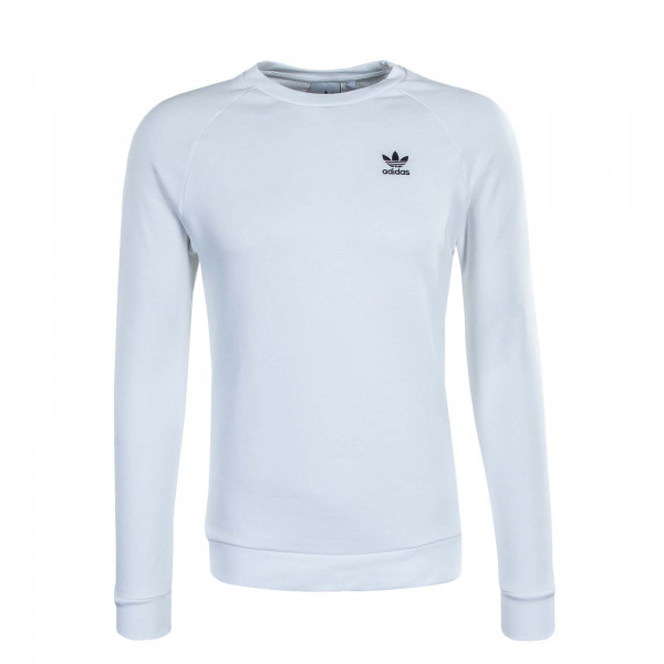 Herren Pullover - Sweat Essential Crewneck - White / Black