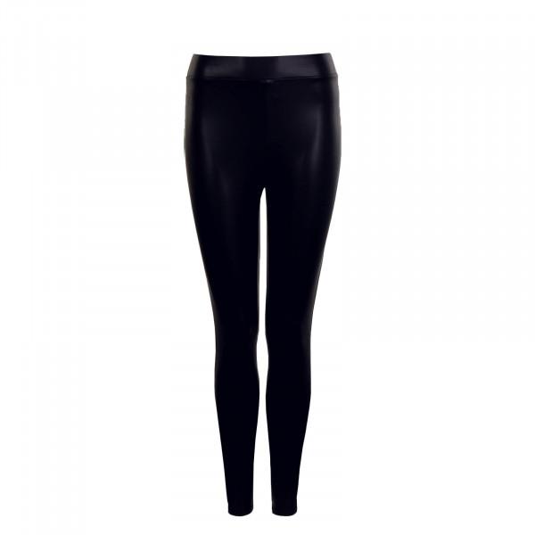 Damen Cool Coated Leggings Black