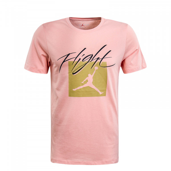 Herren T-Shirt Jumpman Flight Rose Black