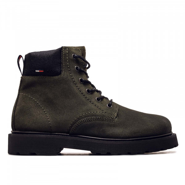 Herren Boots - Short Lace UP - Army Gree