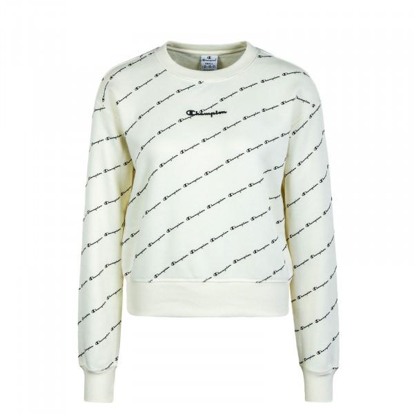 Damen Sweatshirt 113215 Beige Black