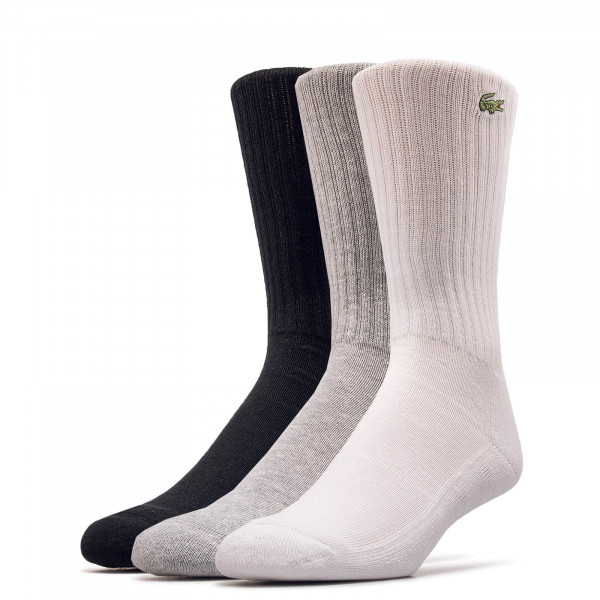 3er-Pack Socken 7621 P0F Grey Black White