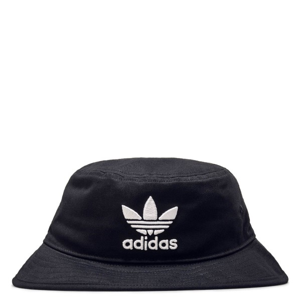 Adidas Hat Bucket Black White