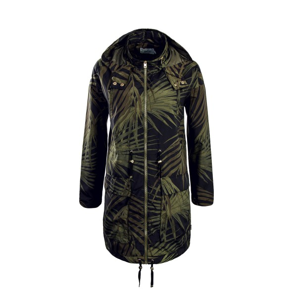 Only Mantel Jasmin Palm Black Green