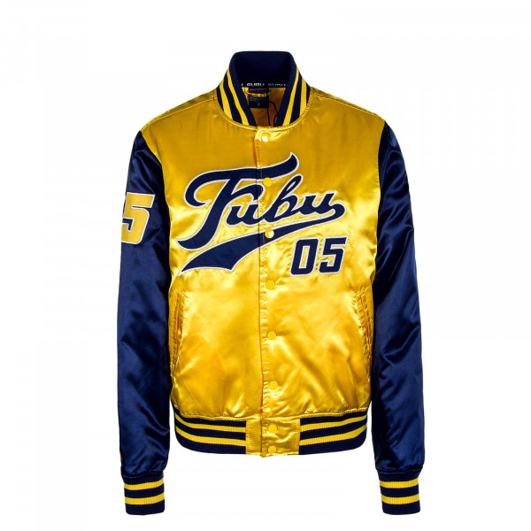Herren Jacke Varsity Navy Yellow White