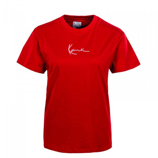 Damen T-Shirt - KK Small Signature - Red