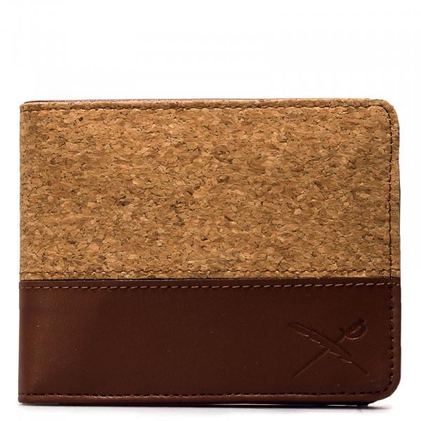 Wallet - Cork On Cotton Mix - Cognac
