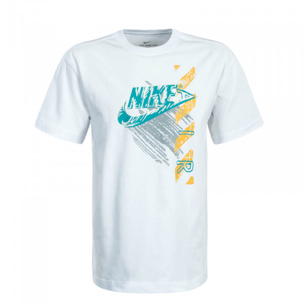 Herren T-Shirt Reissue White Green
