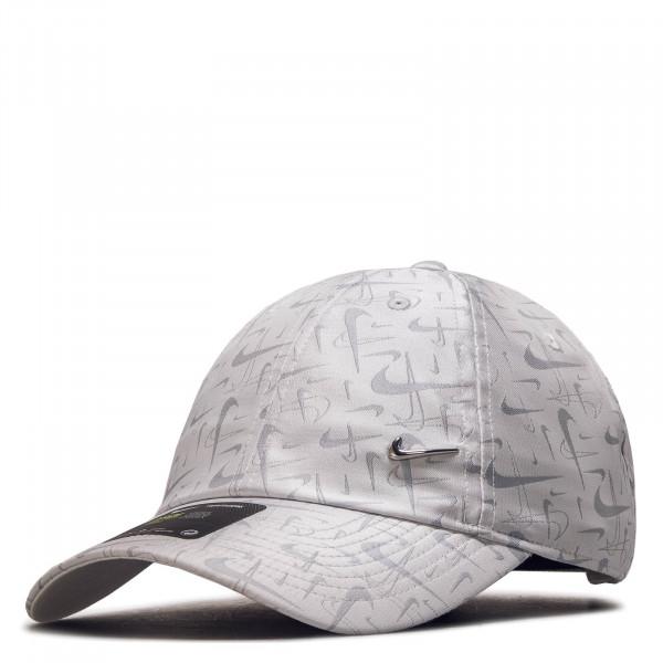 Cap CK1318 White Silver