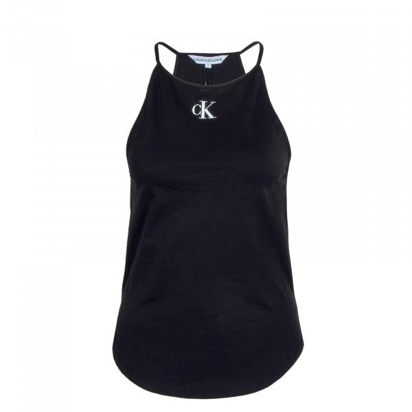 Damen Top - Micro On Camisole - Black