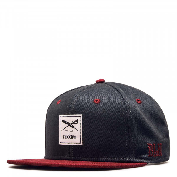 Cap Daily Contra Anthrazit Red