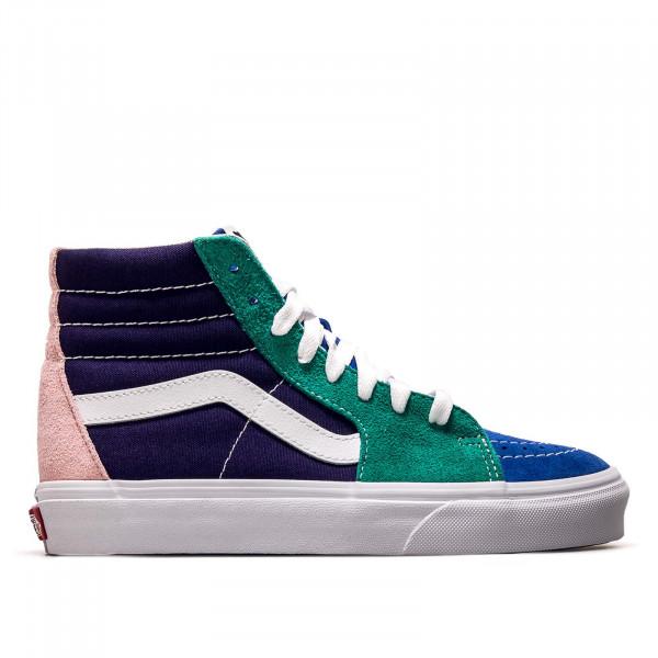 Damen Sneaker - SK8 Hi Retro Court - Multi White