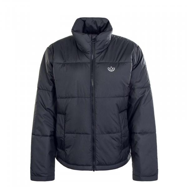 Damen Jacke Short Puffer GK8554 Black White