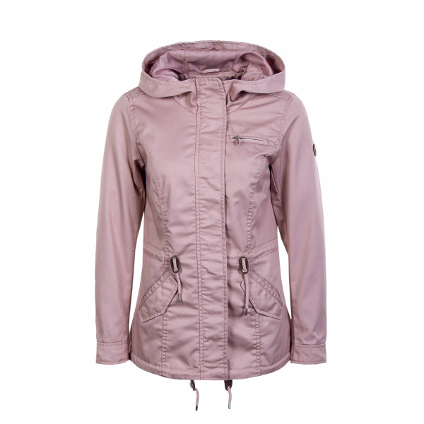 Damen Jacke - Lorca Canvas Parka - Rose