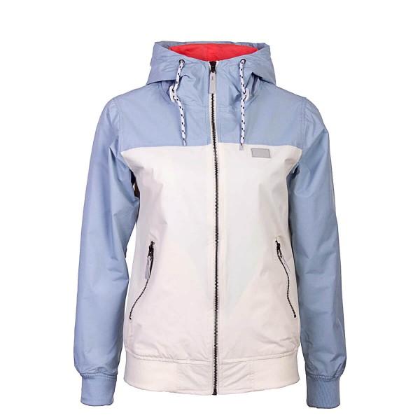Damen Jacke Veruschka Light Blue White