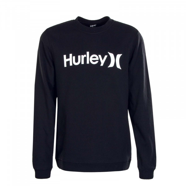 Herren Sweatshirt Crew One & Only Black White