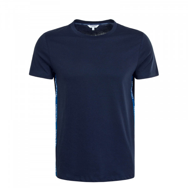 Herren T-Shirt 0464 Relaxed Crew Navy White