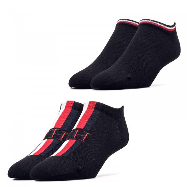 Socken 2er-Pack Iconic Stripe Black