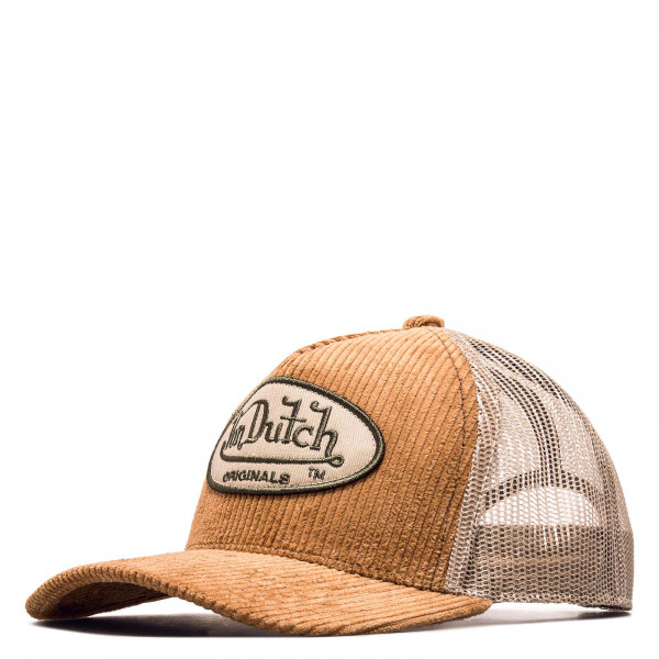Trucker Cap - Corduroy - Brown / Beige