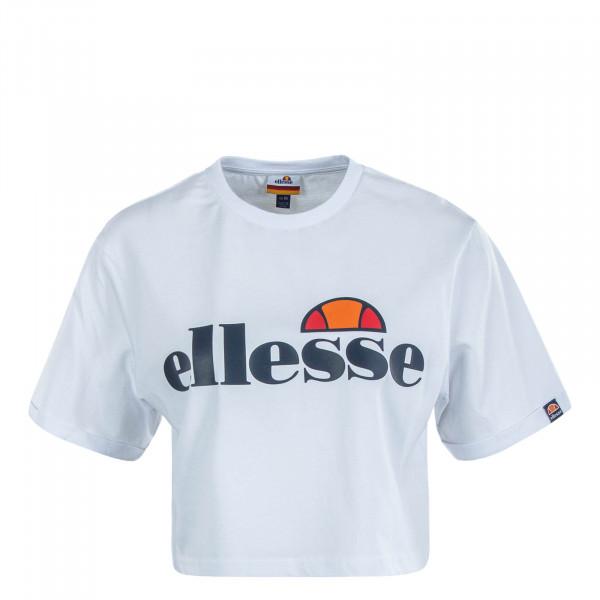 Damen T-Shirt Alberta White