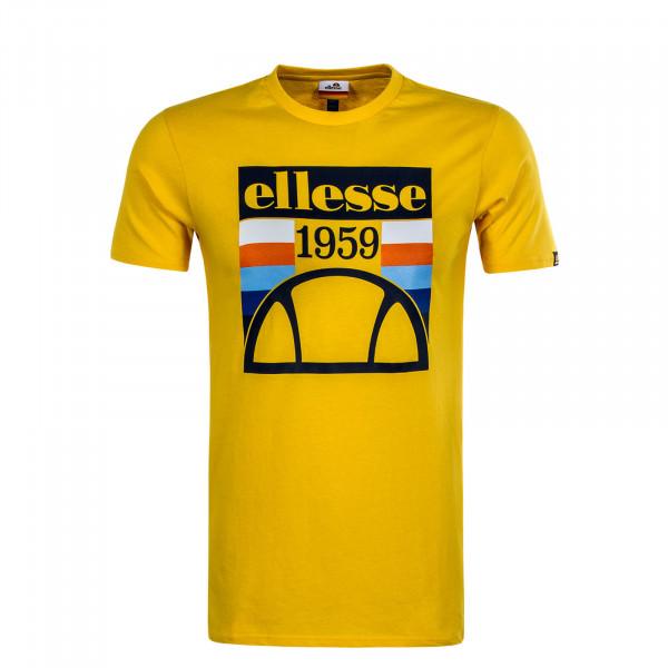 Herren T-Shirt Pirozzi Yellow