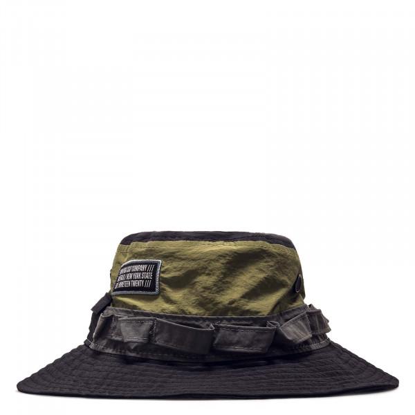 Hut - Panelled Adventurer  - Black / Olive