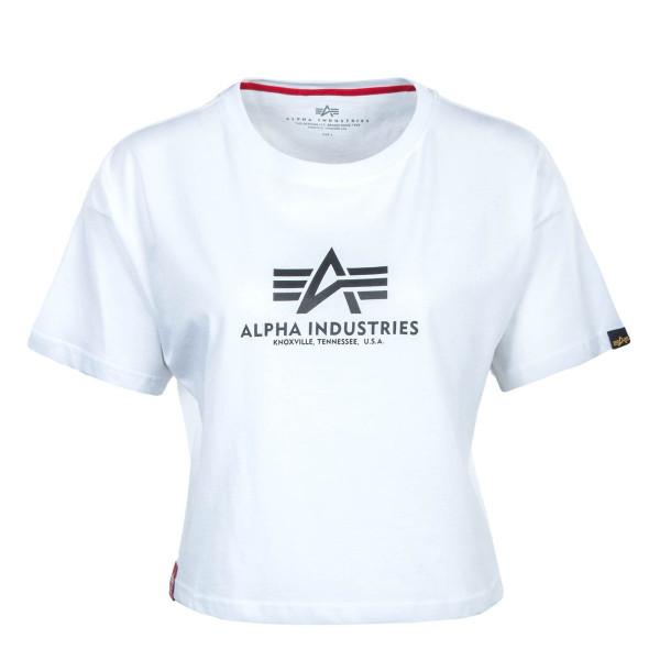 Damen T-Shirt - Basic COS - White