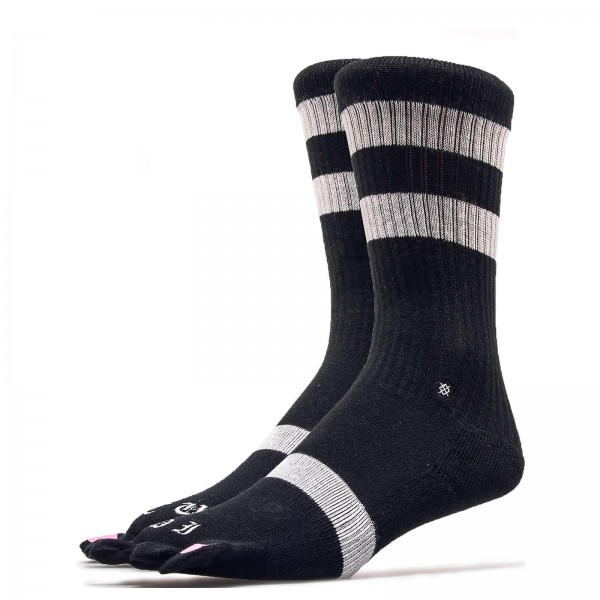 Damen Socken Pedi Cure Black