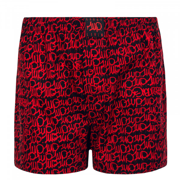 Herren Unterwäsche - Boxershorts One Up 3 - Black Red