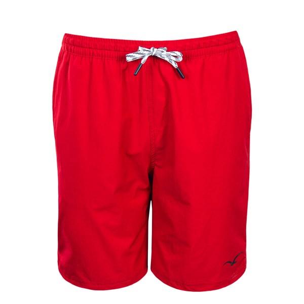 Herren Shorts - Boardshort Track - Red