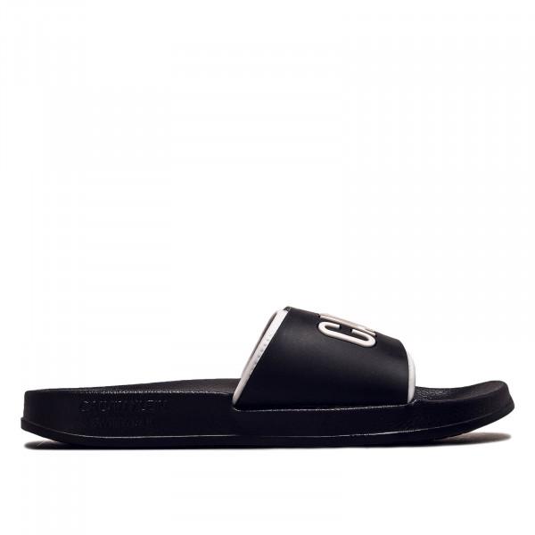 Herren Slide 0376 Black White