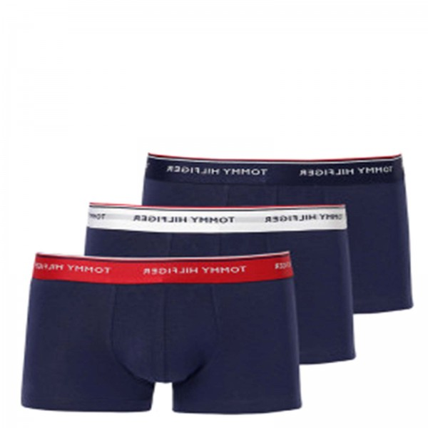 Tommy Under Trunk 3 Pack Navy Multi