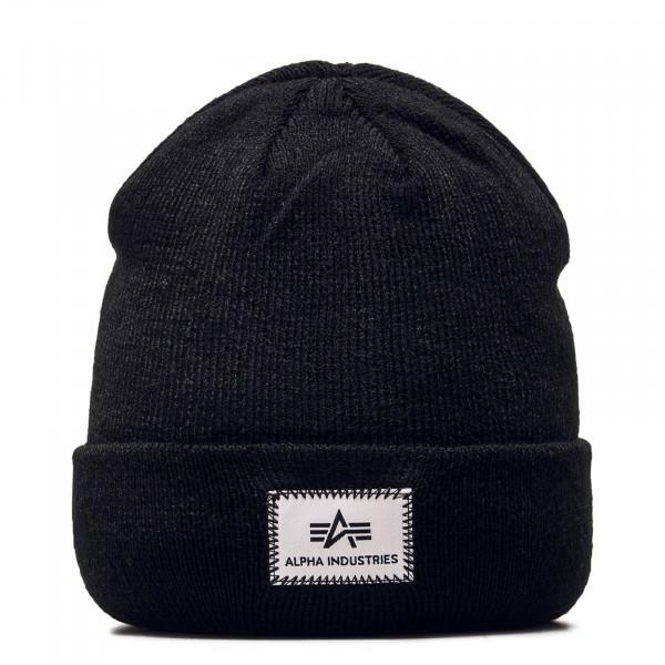 Alpha Beanie X Fit Black