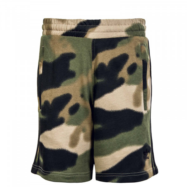 Camo AOP Short Wilpin Multi Black
