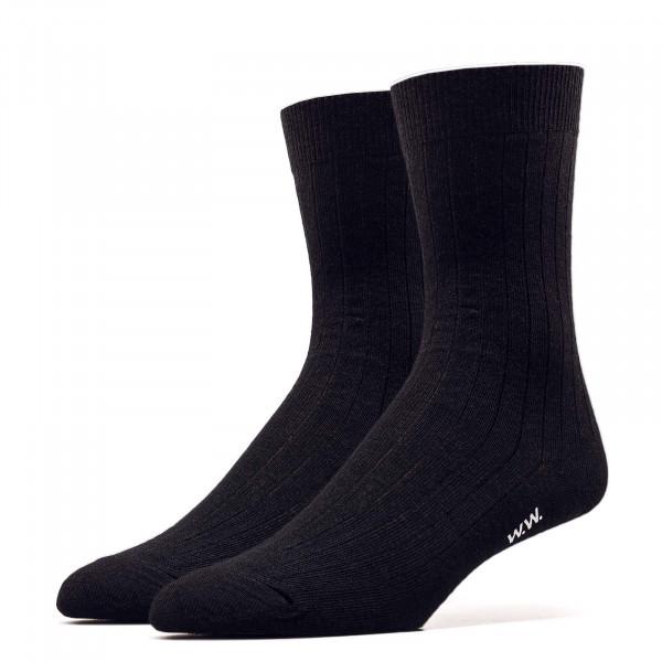 Socken - Nathan Wool Socks - Black