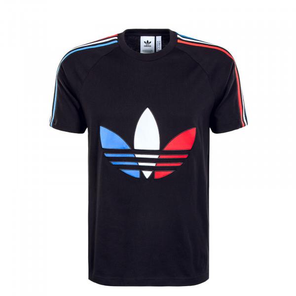 Herren T-Shirt - Tricolor TEE 2 8920 - Black