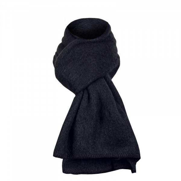 Only Scarf Lima Knit Long Black