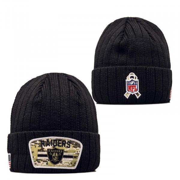 Beanie - NFL21 STS Knit Las Vegas Raiders - Black
