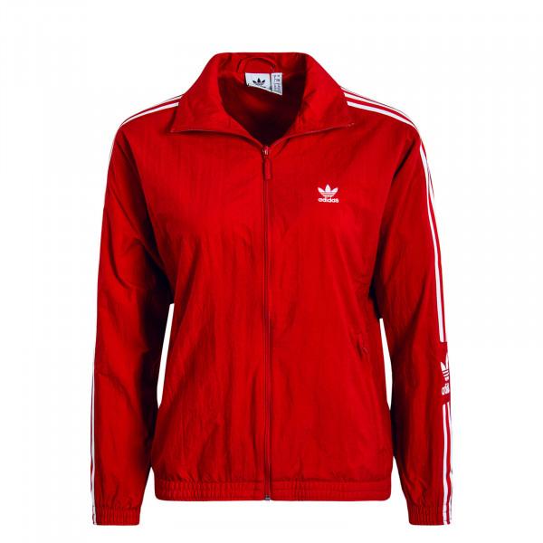 Damen Trainingsjacke Lock Up Red White