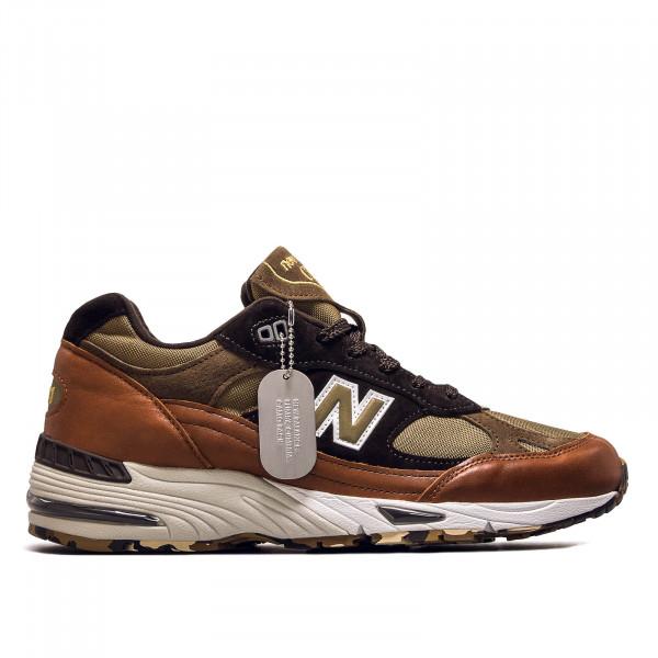 Herren Sneaker M 991 SOP Brown