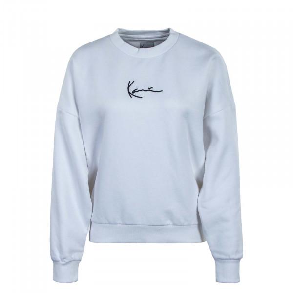Damen Sweatshirt - Small Signature - Crew White