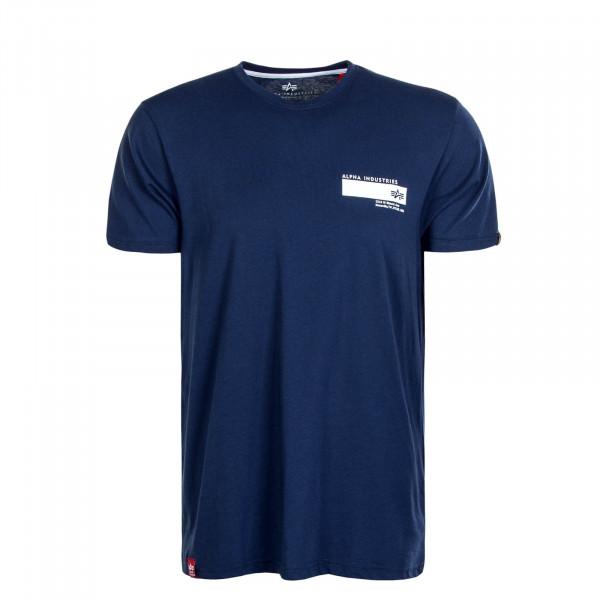 Herren T-Shirt Blount Ave New Navy
