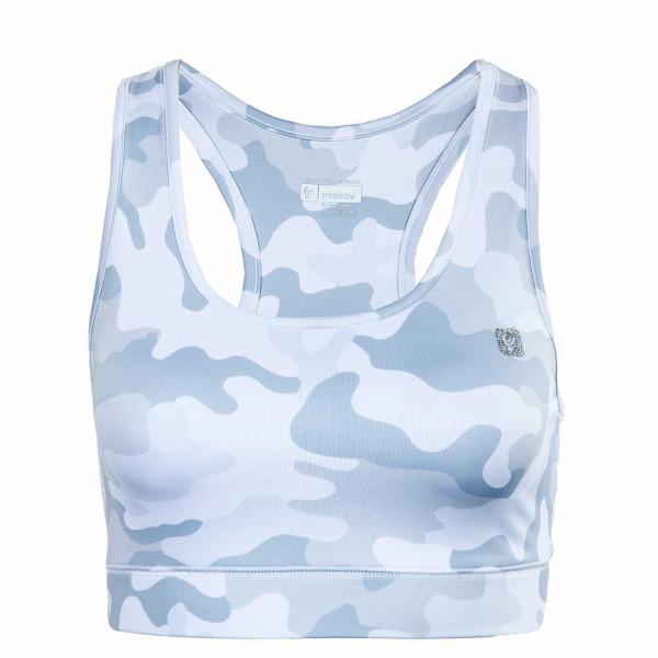 Damen Top - S1WBAB1C Camouflage - White / Grey