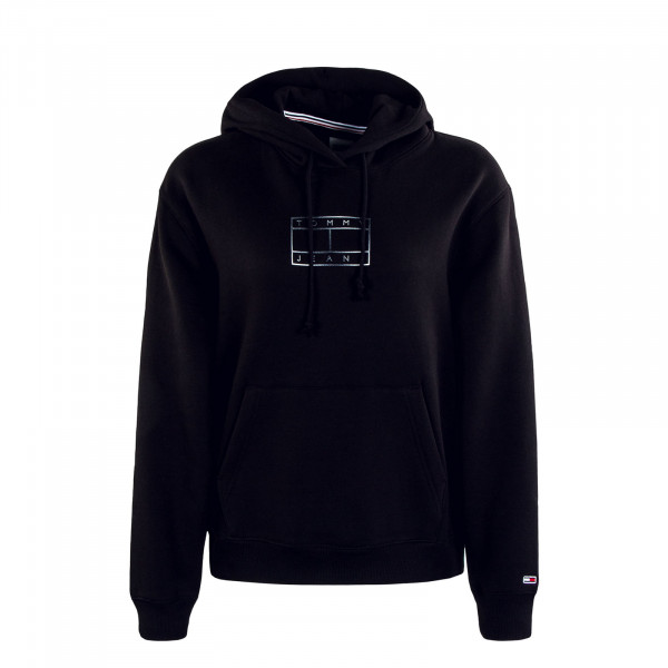 Damen Hoody Outline Flag Hoody Black