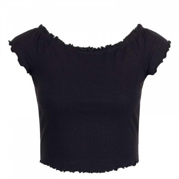 Damen Off Shoulder Top Naroma JRS Black