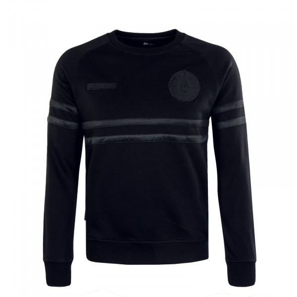 Herren Pullover - DMWU Crewneck - All Black